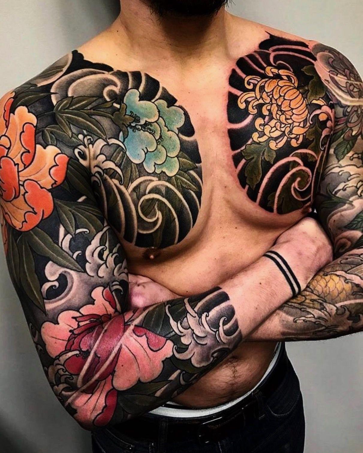 Pin by David Garza on Tattoo Traditional japanese