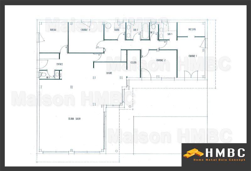 Constructeur de maison contemporaine de 167m2 elodie for Constructeur maison contemporaine 64