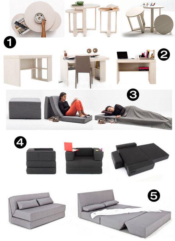 Modern Functional Space Saving Furniture Collection Moveis Para
