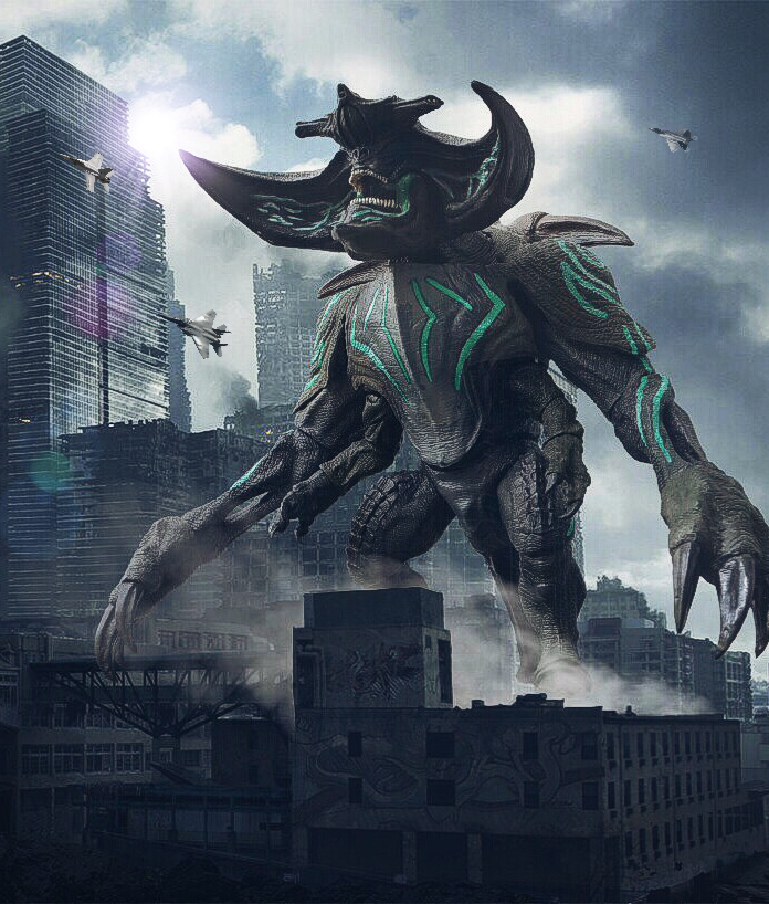 PACIFIC RIM; KAIJU SCUNNER by Pacific Shatterdome. NECA ... Pacific Rim Scunner Drawing