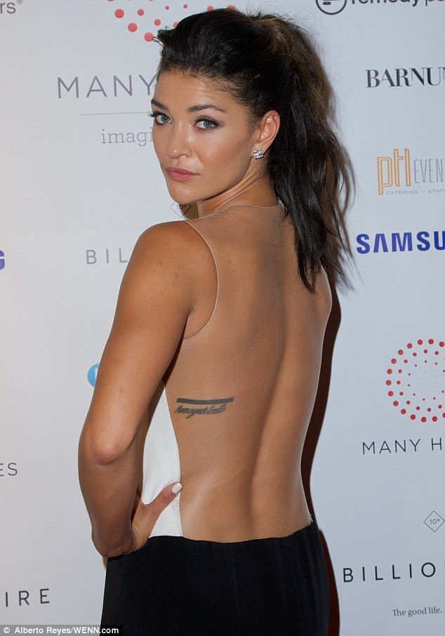 What Would Gossip Girl Say Jessica Szohr Goes Braless At Charity