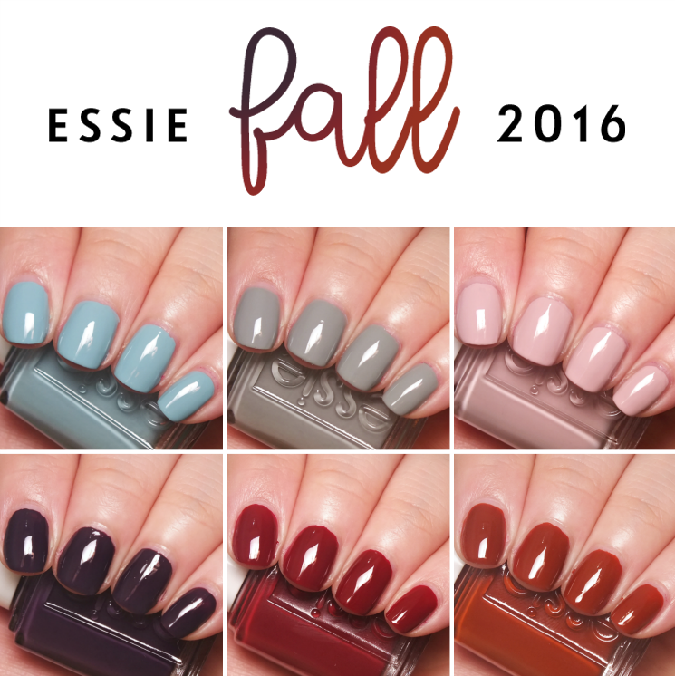 Fall for Japanese | Essie polish, Makeup and Nail polish 2016