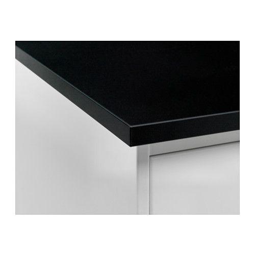 Gottsk r piano di lavoro double face bianco nero bordo - Ikea piano di lavoro ...