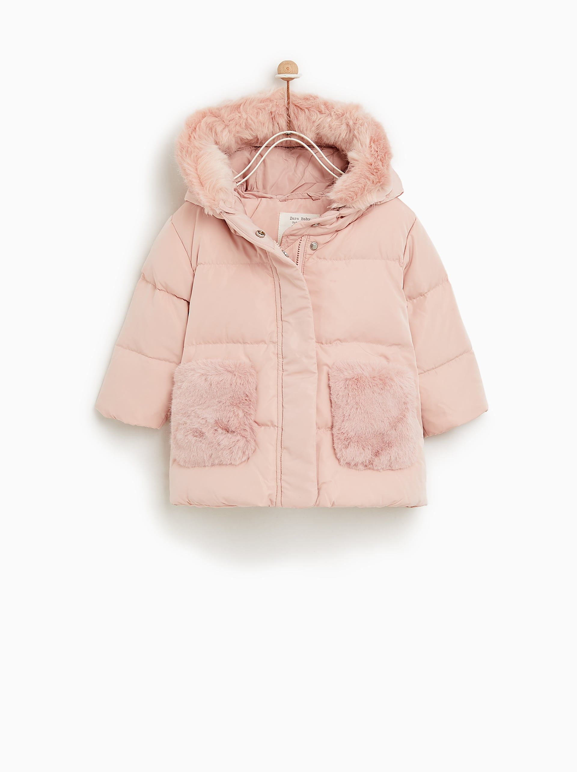 Image 6 of PUFFER JACKET WITH POCKETS from Zara  Toddler girl