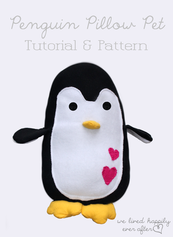 Diy Penguin We Lived Happily Ever After Sewing Projects