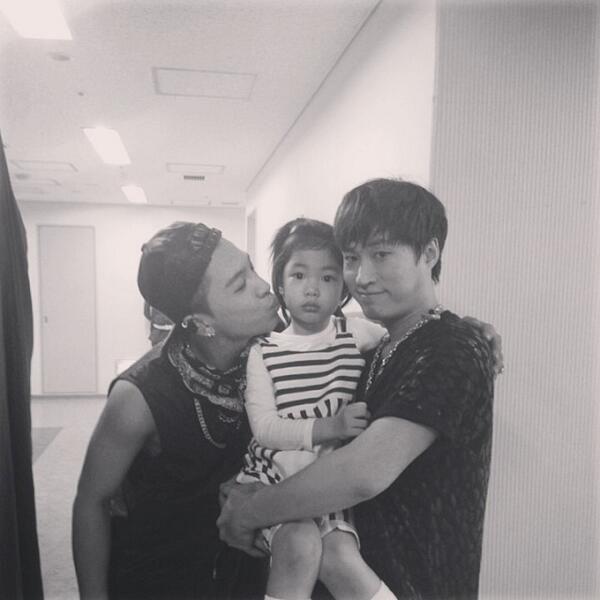Taeyang's Instagram Update (140413) - my superstar #haru #tablo
