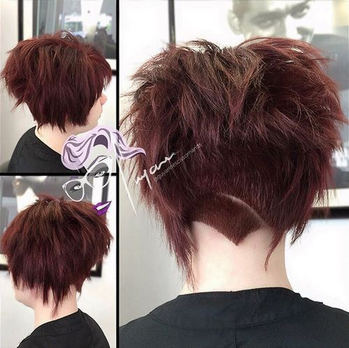 35 Short Punk Hairstyles To Rock Your Fantasy Short Punk Hair Punk Hair Bobs For Thin Hair