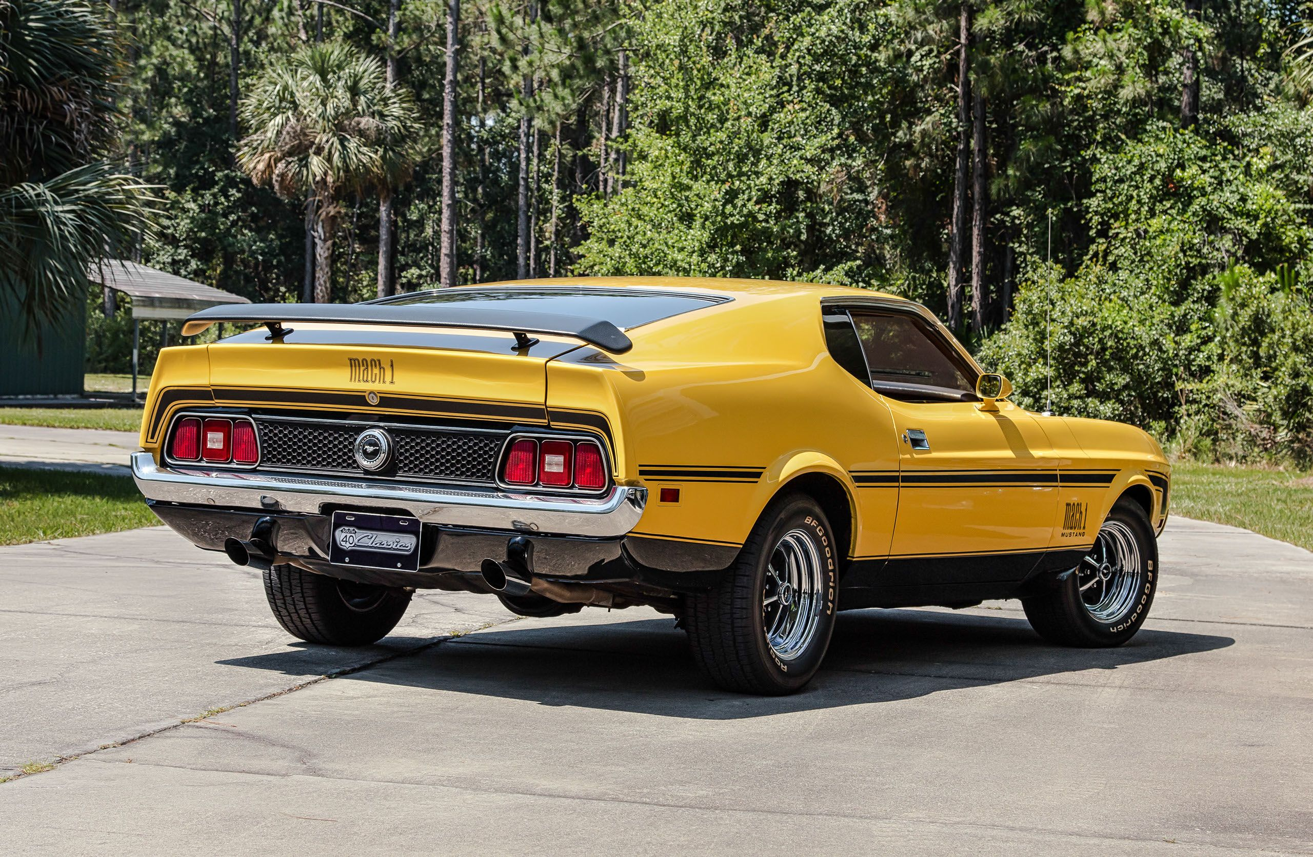 72 ford mach 1 mustang