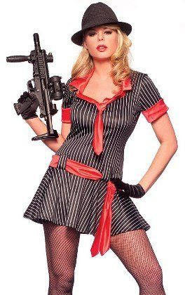 sexy mobster halloween costumes sexy mobster halloween costumes - Female Gangster Halloween Costumes