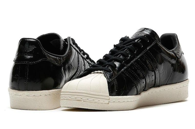 bordado Narabar Ver a través de  The adidas Originals Superstar Gets Covered In Patent Leather •  KicksOnFire.com | Adidas originals superstar, Patent leather, Sneakers