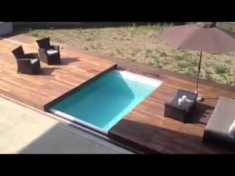 Deck de piscina retr til youtube pr baja porche for Piscinas p 29 villalba