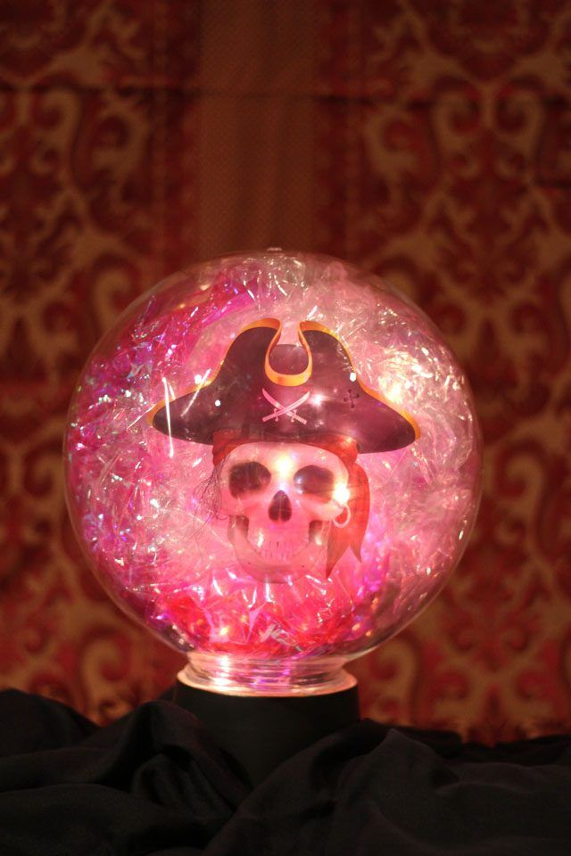 Easy Way To Make A Crystal Ball For Halloween Decorations Adorable Halloween Crystal Ball Decoration