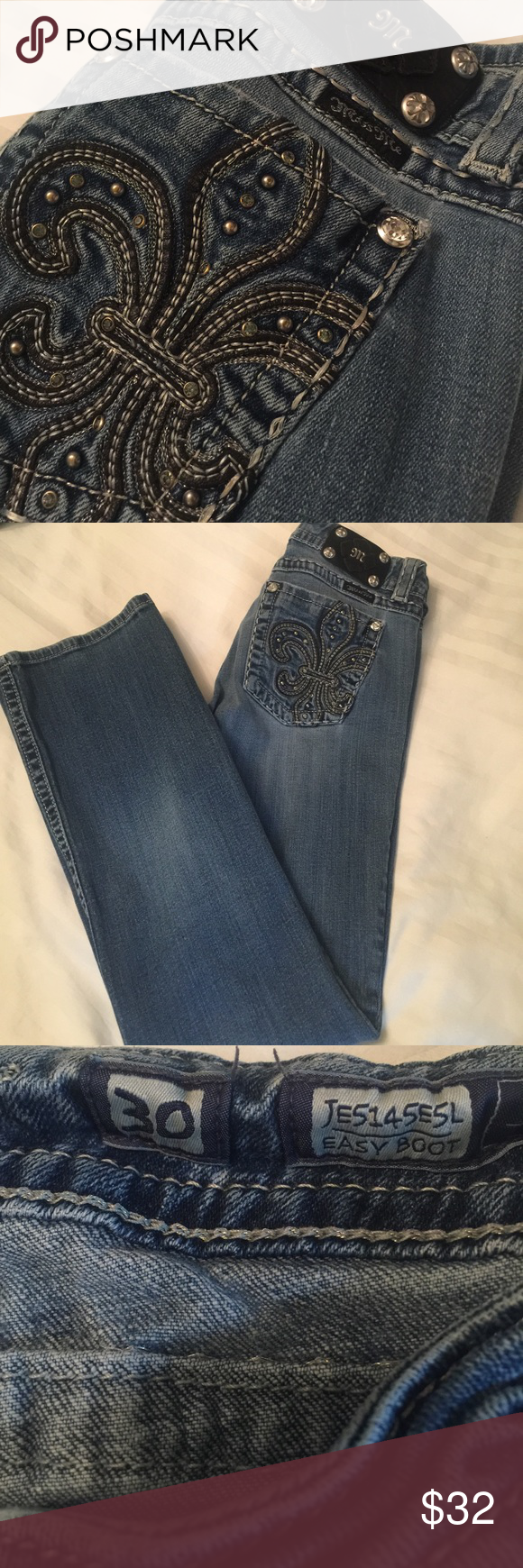 Miss Me Easy Boot Jeans Size 30 | D, Boots and Colors