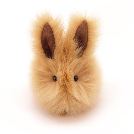 Honey Bunny Rabbit Stuffed Toy Plushie Animal Easter by Fuzziggles, $28.95