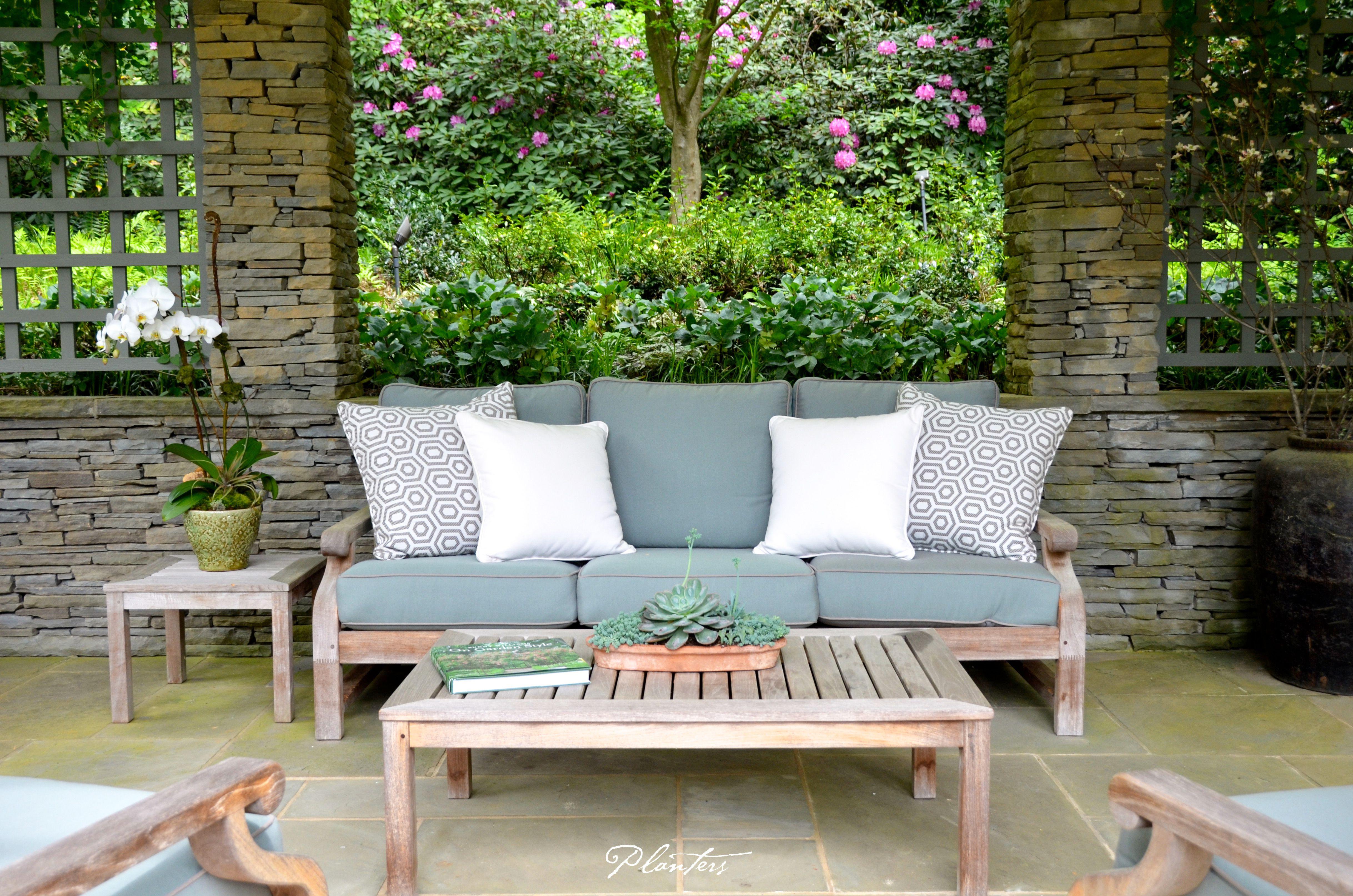 Teak Sofa Coffee Table And Side A Planters Design Atlanta