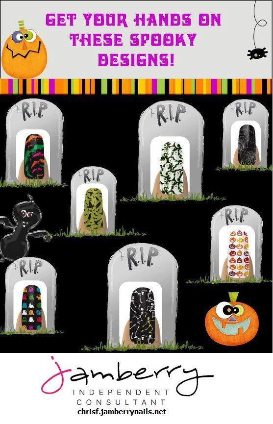 Jamberry Nails for Halloween. Can't wait! | Halloween ...