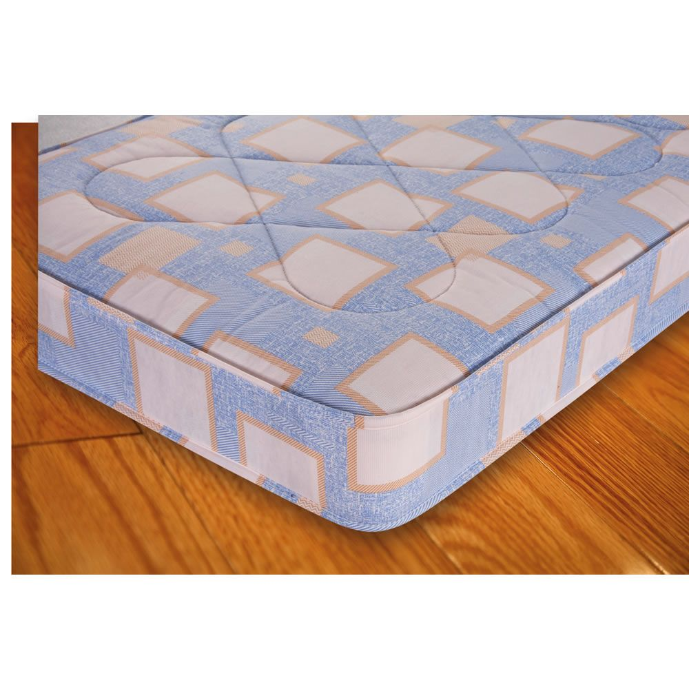 Comfort Express Rolled Mattress Double How To Finish A Quilt Mattress Soft Layers