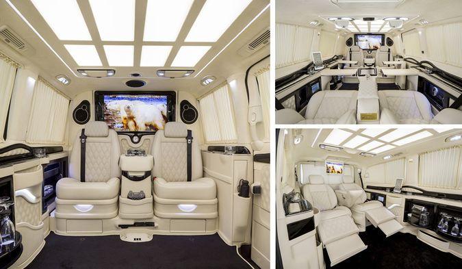 Viano luxury van by daimler mercedes and klassen dream for Mercedes benz sprinter luxury conversion vans
