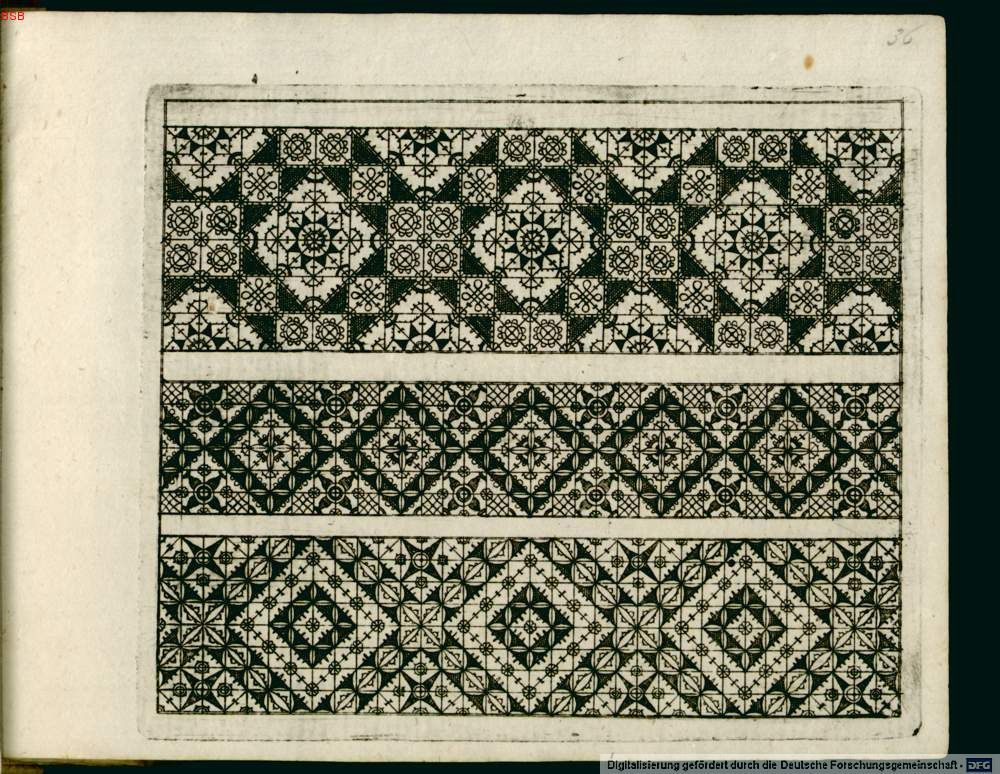 more patterns from 1597