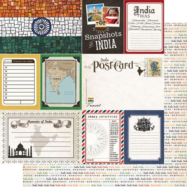 Travel Vacation Adventure 12X12 Scrapbooking Kit The Paper Studio Memories NEW