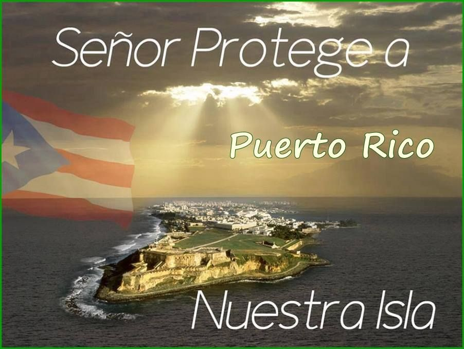 A prayer for Puerto Rico A prayer