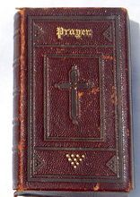 Antique 1864 Protestant Episcopal Leather Book Of Common Prayer
