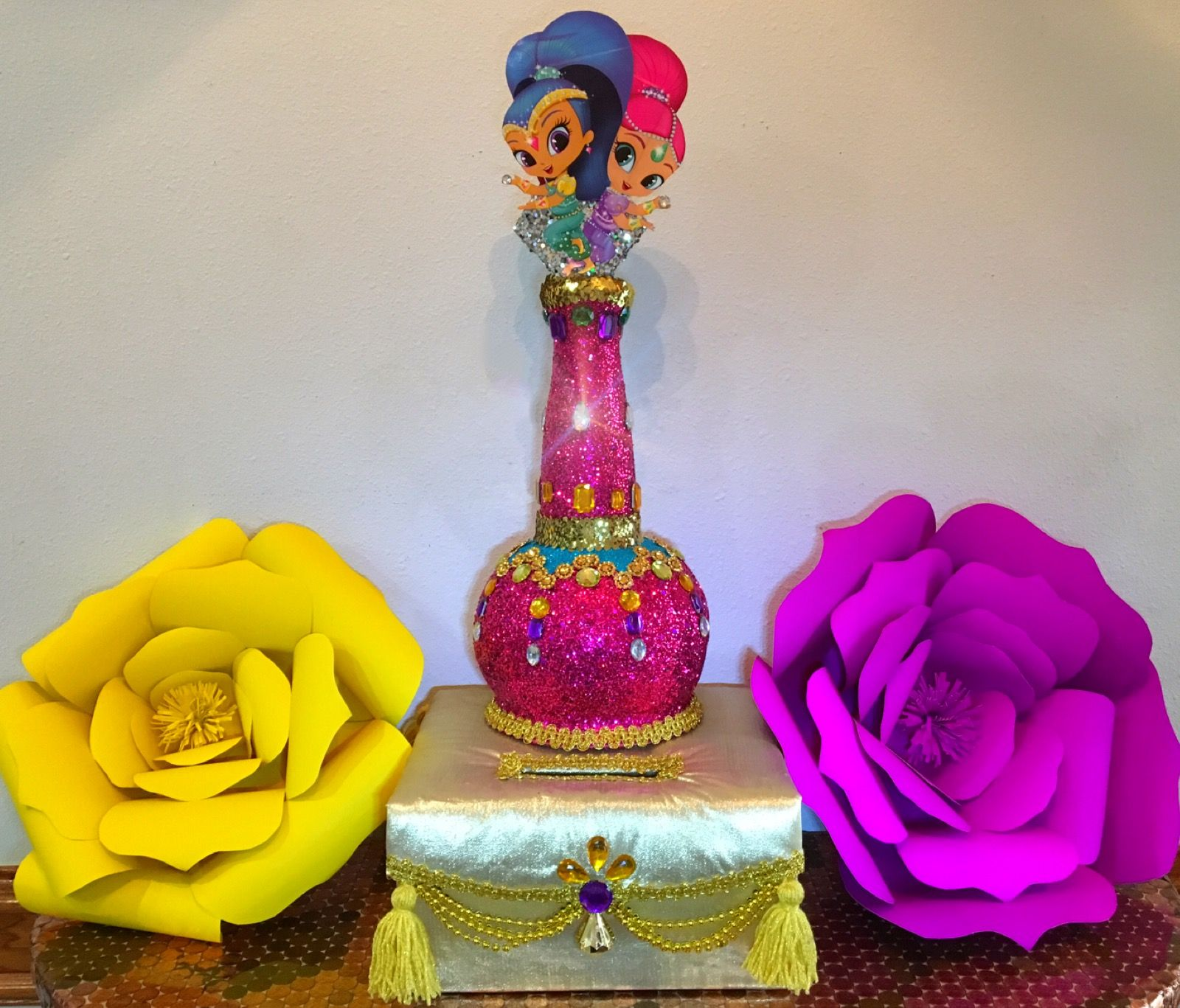 Shine And Shimmer Money Box Shimmer Shine Fiesta Party 4th