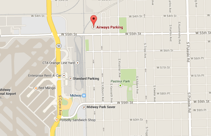 Midway Airport Parking >> Airways Parking Midway Airport Parking In Midway Airport Parking