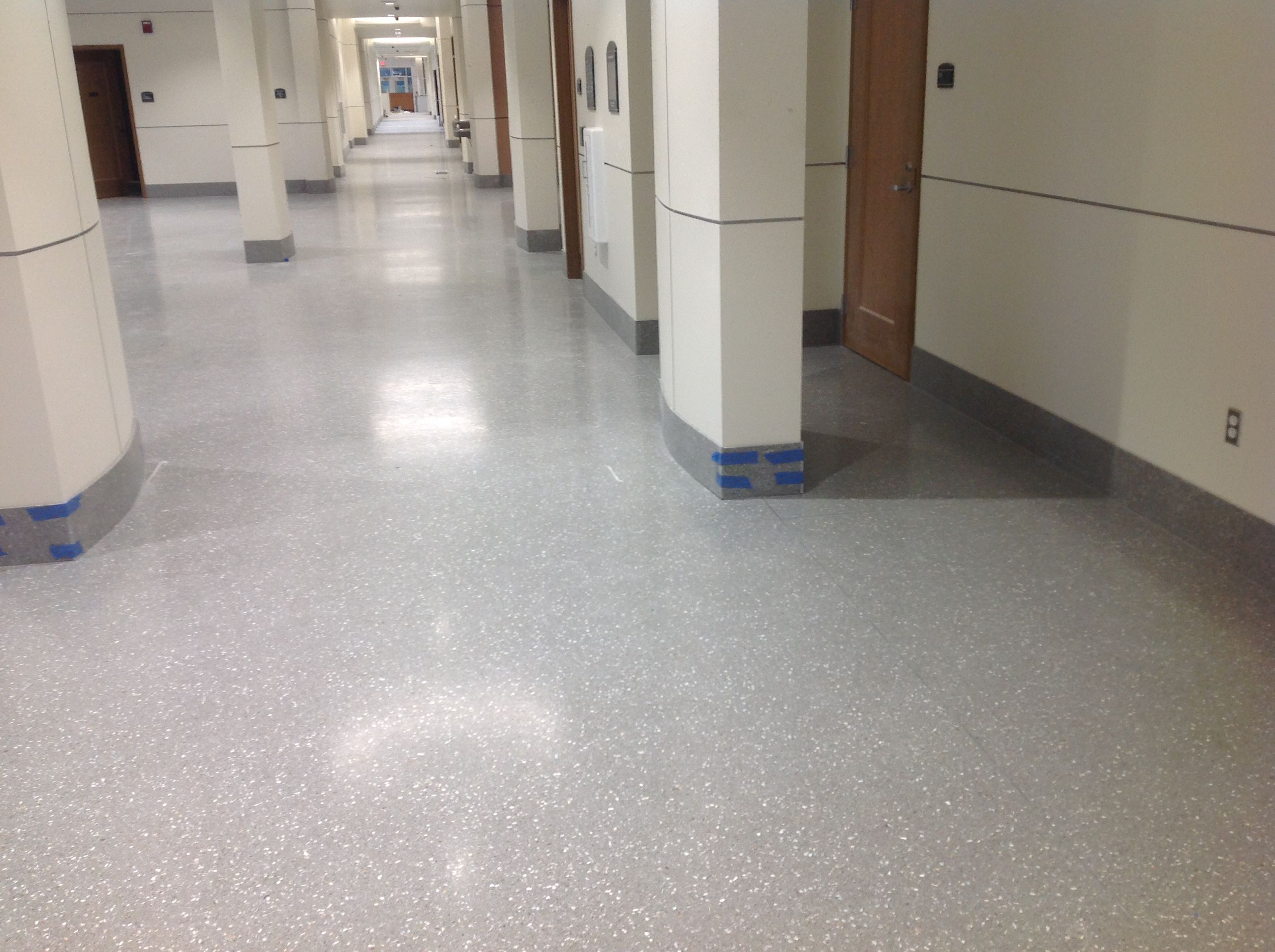 Epoxy Terrazzo Floors Installed At Hanover County Courthouse