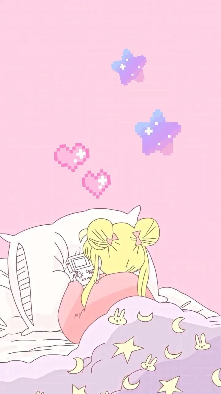 Pin by 🏳️🌈 ava 🏳️🌈 on Aesthetic AF [Video] in 2021 | Cute cartoon wallpapers, Sailor moon art, Sailor moon wallpaper