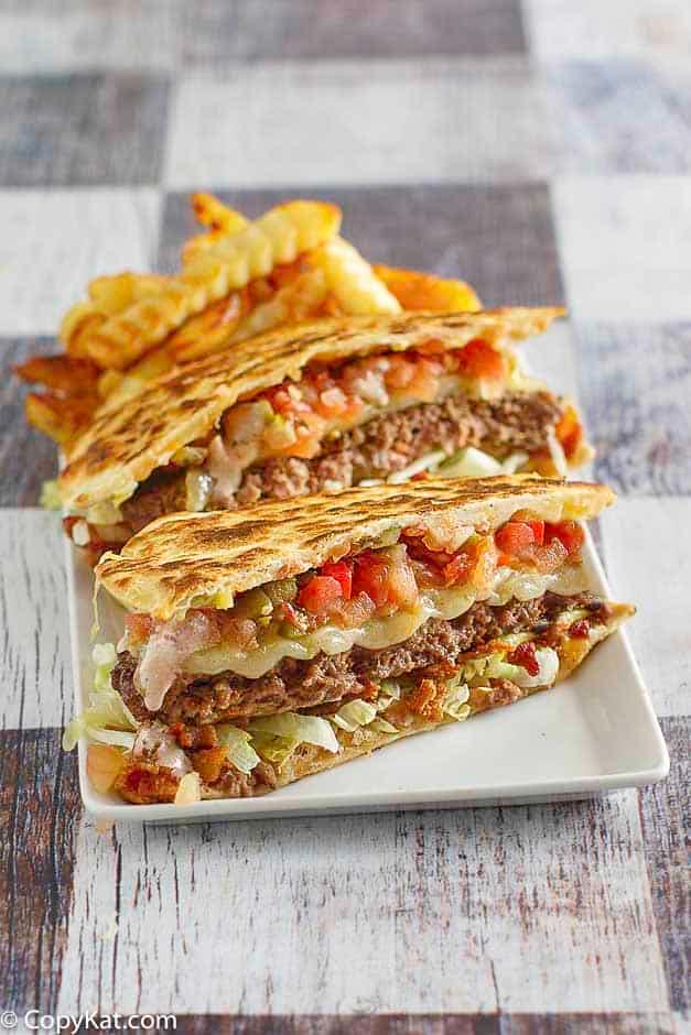 Applebees Quesadilla Burger