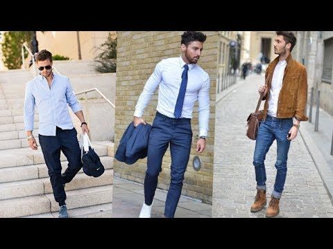 9fc2cb7b7af1e0 SMART Casual Work Outfits Ideas 2018 Business//Dressy Casual MAN | simple  beauty world | Boat shoes, Shoes with jeans, Jeans dress