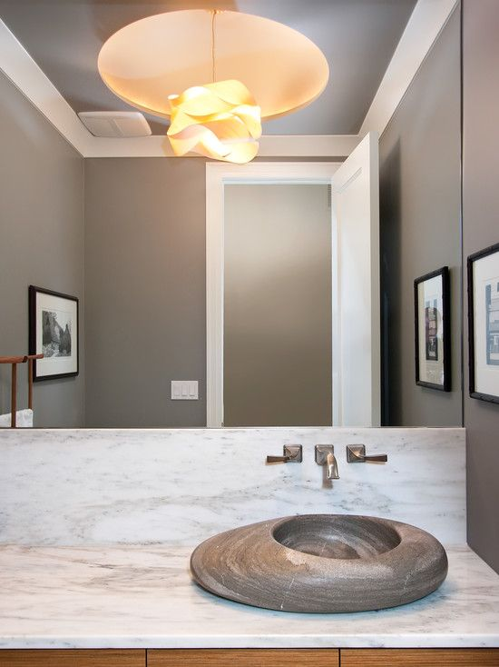 Photo Gallery On Website Unique Bathroom Mirrors and Other Unique Equipment Contemporary Powder Room With Unique Bathroom Sinks Made