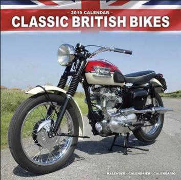 2018 2019 Calendar Classic British Bikes Triumph Motorcycles Classic Triumph Motorcycles Triumph Bikes