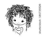 Desenho Cabelo Cacheado Menina Pesquisa Google Desenhos De