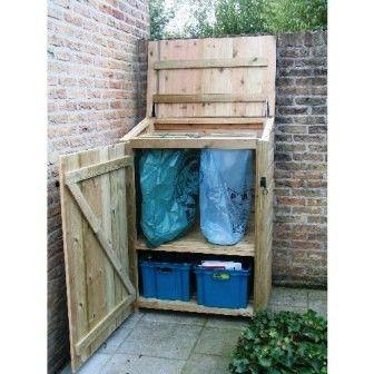 Outdoor recycling and trash storage solution / Terraskast - Sortera // tuinenverkes  sc 1 st  Pinterest & Outdoor recycling and trash storage solution / Terraskast - Sortera ...