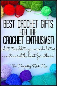 Best Crochet Gifts for the Crochet Enthusiast with a Furl's Hook GIVEAWAY!!!