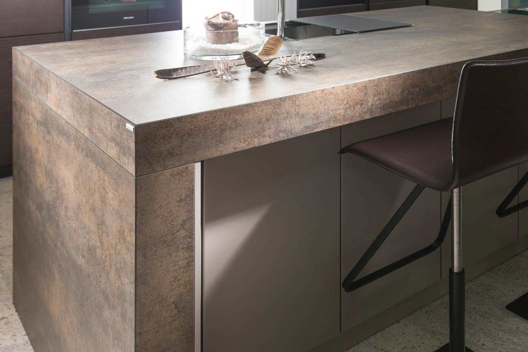 keramik arbeitsplatte iron moos 10cm | moderne küchen | pinterest ... - Keramik Küche