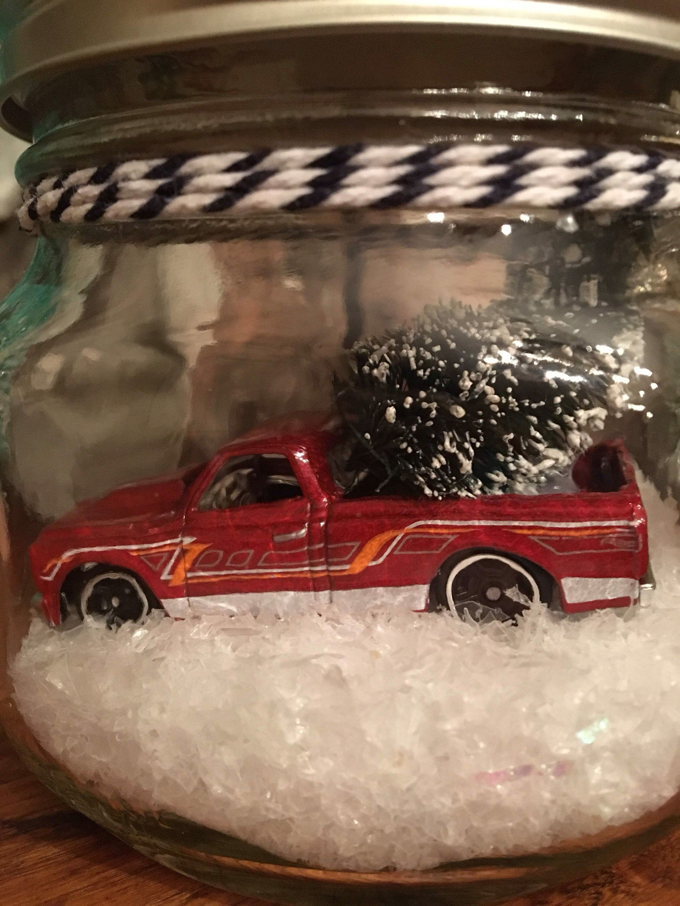 Mason Jar Holiday, 1967 Chevy C10 in a Jar, Classic