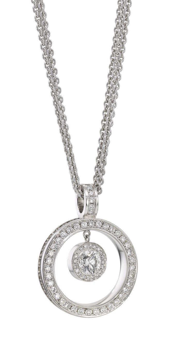 Rosendorff bridal collection brilliant circle of love diamond rosendorff bridal collection brilliant circle of love diamond pendant aloadofball Choice Image