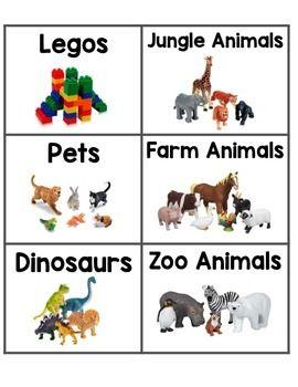 Toy Bin Labels Alphabet Toy Bin Labels Toy Bins Bin