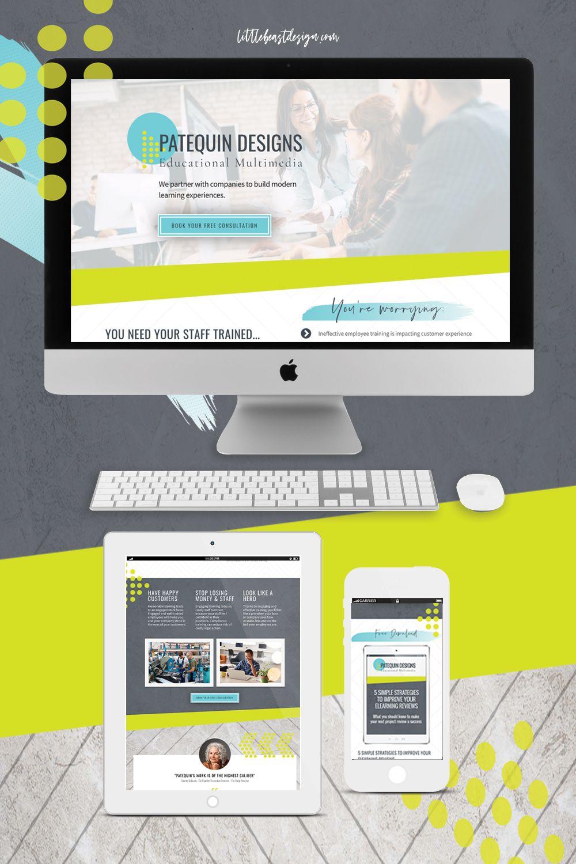 Colourful Web Design Ideas For Female Entrepreneurs Unique Website Design Portfolio Web Design Branding Website Design