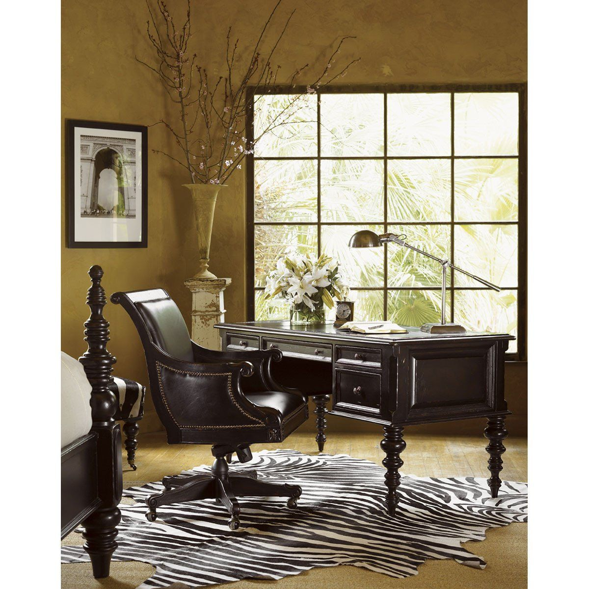 Paul schatz furniture portland or  Tommy Bahama Kingstown Admiralty Desk Chair   Interior