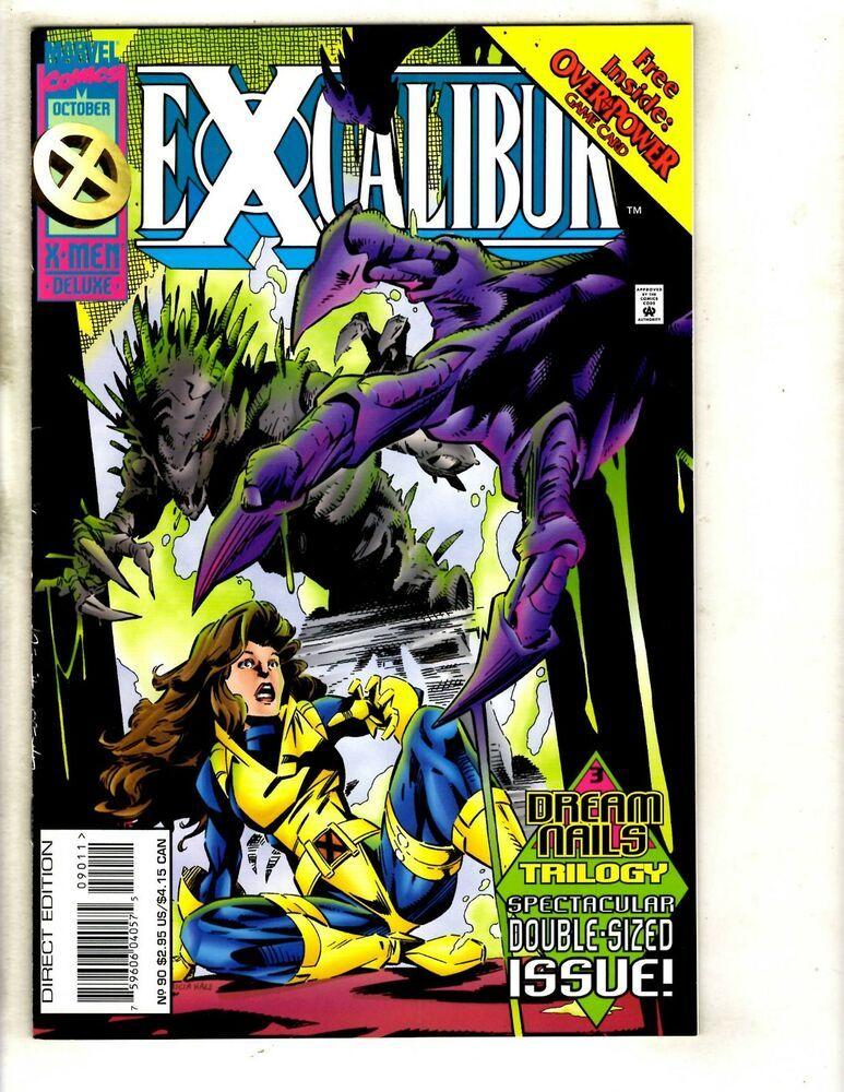 10 Excalibur Marvel Comics 90 91 92 93 94 95 96 97 98 99 Nightcrawler Mf7 Nightcrawler Marvel Comics Covers Marvel Comics