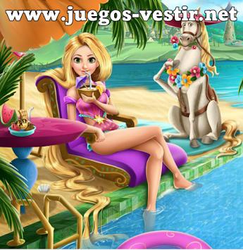 Voluntario crítico comunidad  Juegos de Vestir - Google+ | Rapunzel, Princesas, Piscinas