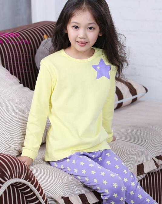 Children Satin Tracksuit Pajamas Long Sleeve Cartoon Nightwear Pj/'s Pyjamas Sets