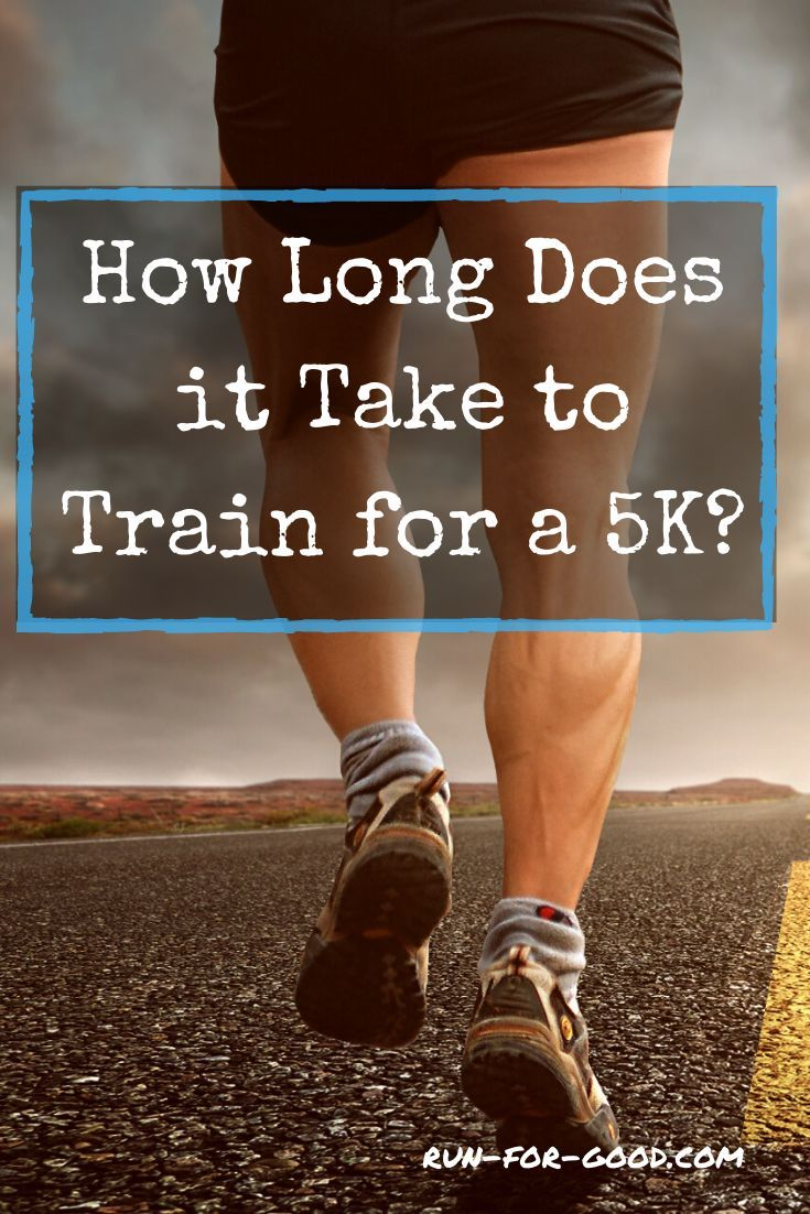 How long does it take to train for a 5k running 5k 5k