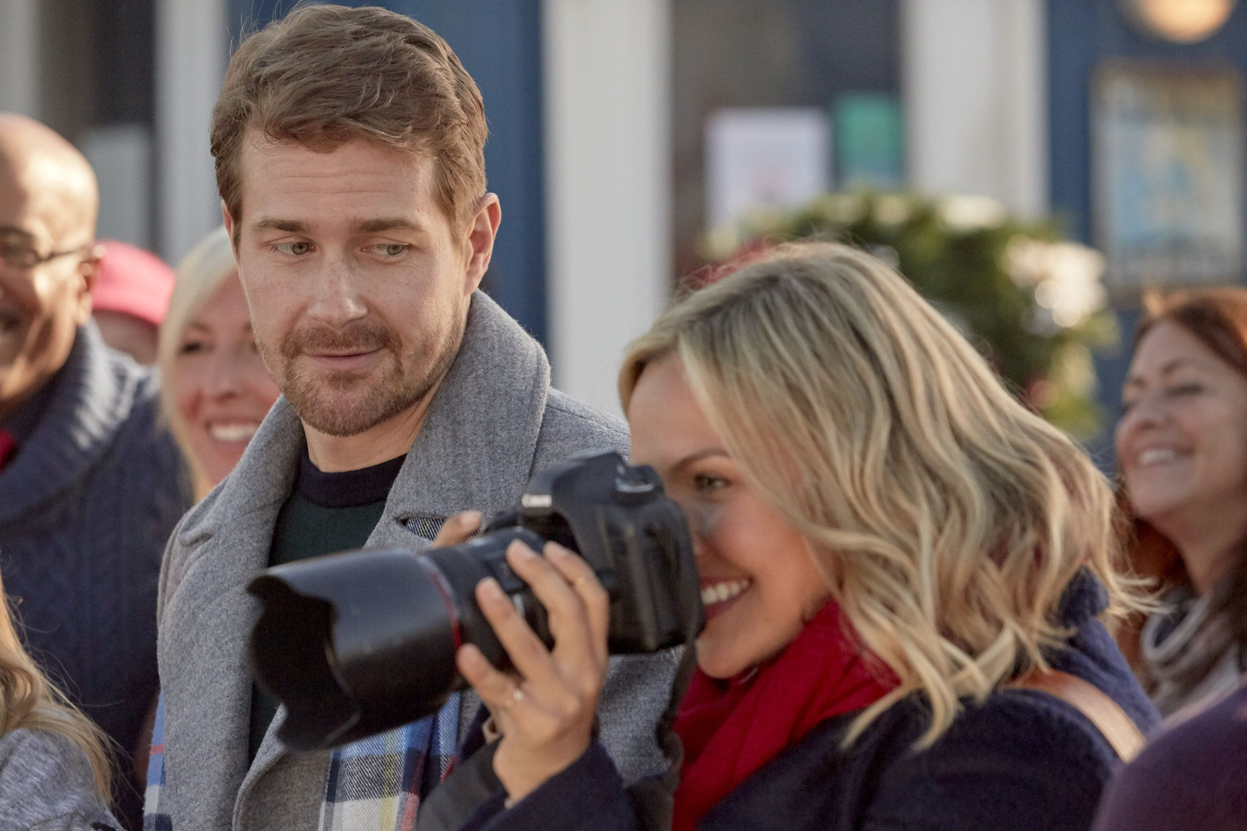 """Check out photos from the Hallmark Movies & Mysteries original movie """"Christmas Bells are ..."""