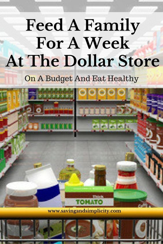 Feed A Family For A Week For $50 At The Dollar Store | Yummy
