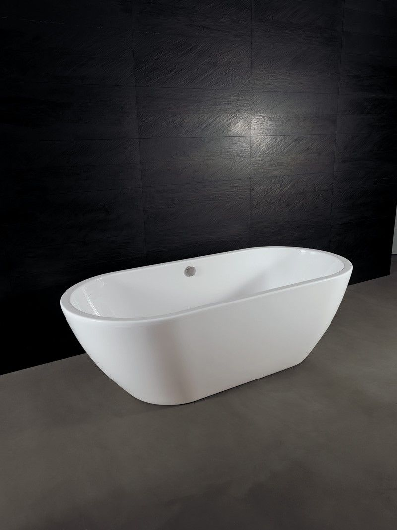 Vasca da bagno freestanding moderna Form Alice Ceramica. [www ...